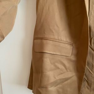 Abercrombie & Fitch Jackets & Coats - Abercrombie & Fitch Drapey Blazer in Camel